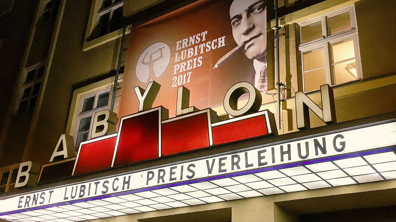 Die Verleihung des Ernst-Lubitsch-Preises 2017